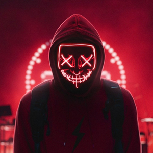PURGE LED LIGHT UP MASK