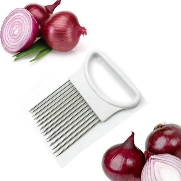✨Onion Holder Slicer Tomato Vegetable Cutter✨
