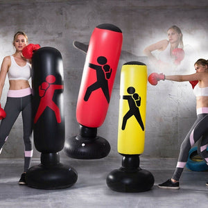 Inflatable Boxing Pile