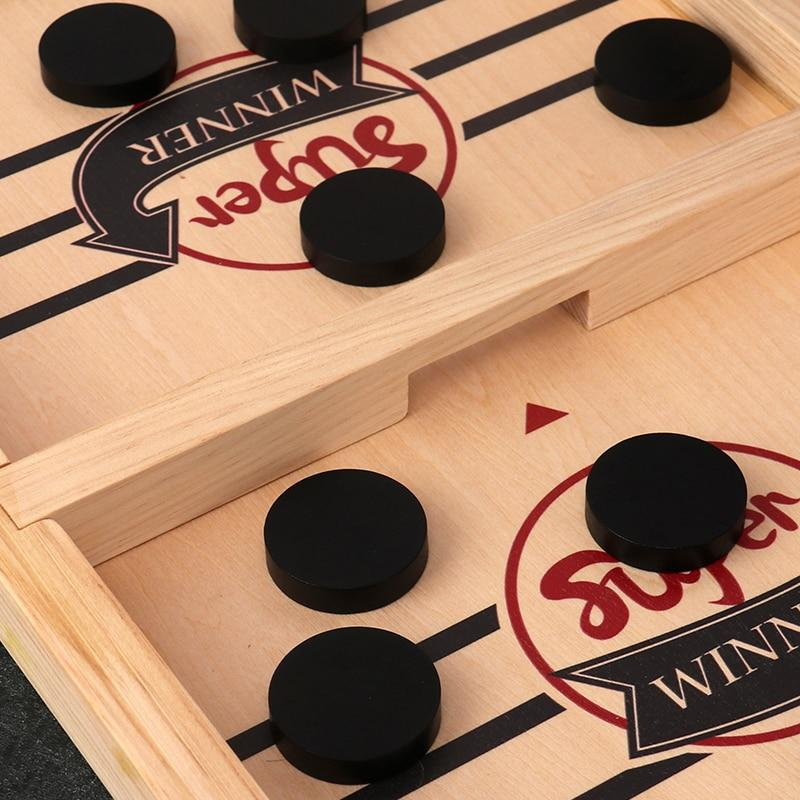 Funny Family Wooden Hockey Game - Holiday Sale