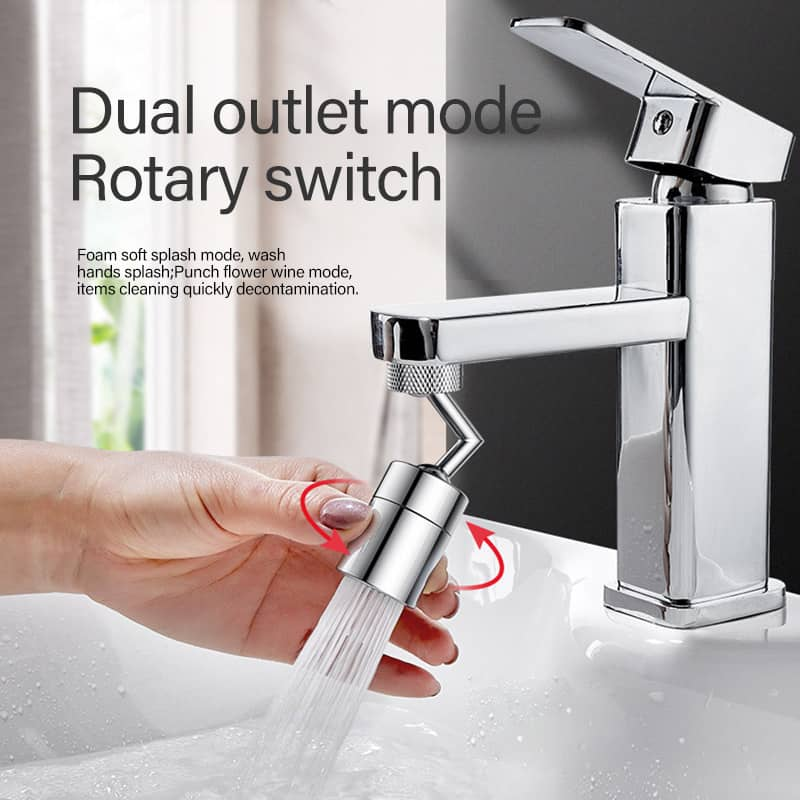 🔥50% OFF🔥Universal Rotating Splash Faucet