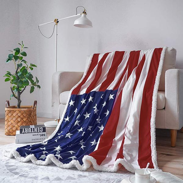50% OFF Best Gift-American Flag Blanket