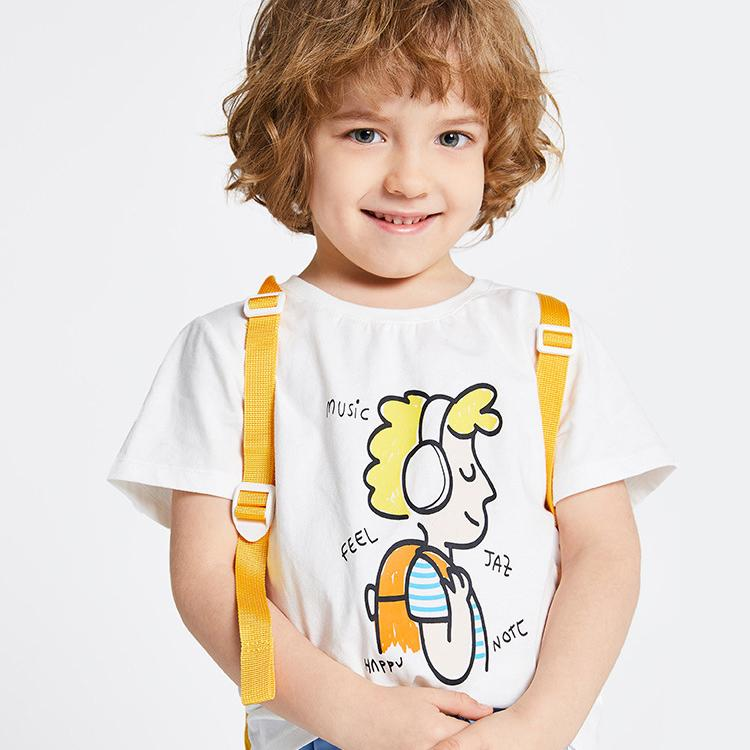 Alex + Nova Cool Boy Graphic Tee - Alex + Nova