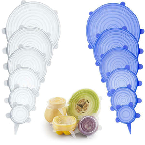 6 Pack Stretch & Seal Silicone Lids (50% OFF)