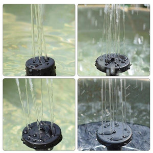 Solar Powered Bionic Fountain