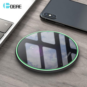 Wireless Charger For iPhone 11 Pro 8, Samsung S8 S9 S10 Note 9