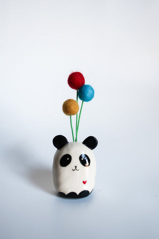 Panda Flower Bud Holder