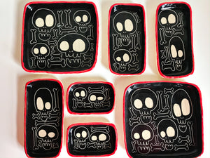 Skull and Bones Dishes/ Trays