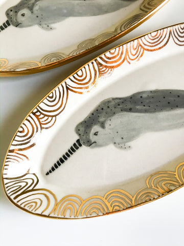 Narwhal Ring Dish