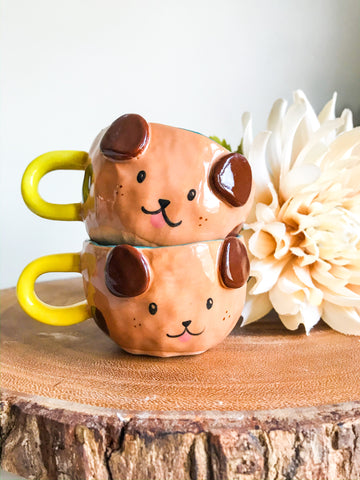 Espresso Cup Set- Puppies