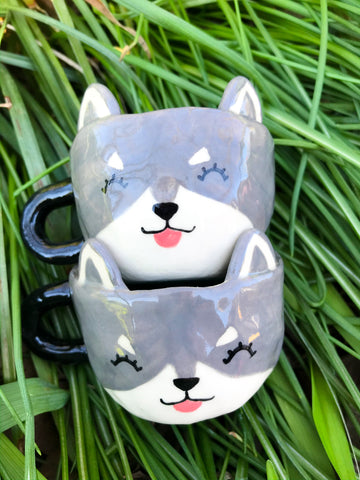 Espresso Cup Single- Huskies