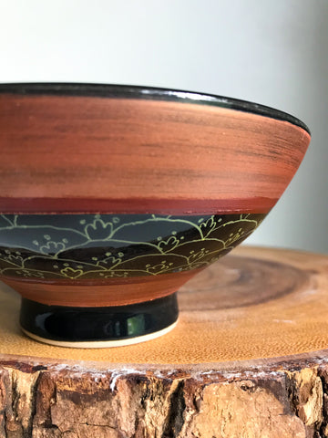 Pattern Bowl- Sprouts