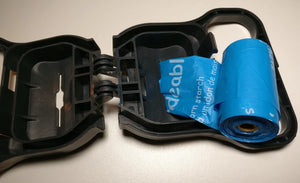 roll fits in Handy Paw Partner Leash Handle and other bag dispensers