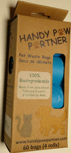 Load image into Gallery viewer, Handy Paw Partner Leash Handle with  75 bags