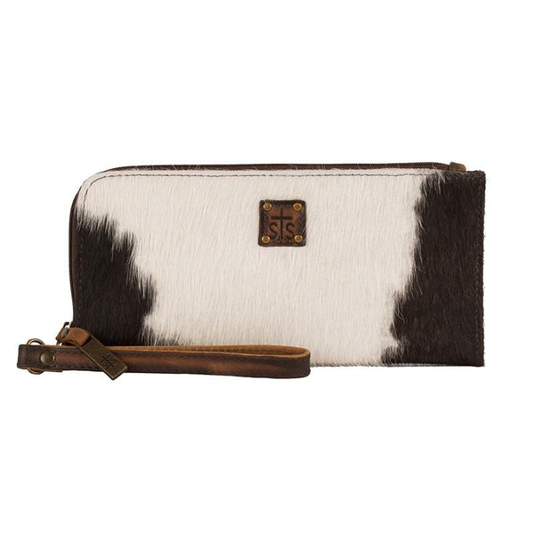 STS RANCHWEAR CLASSIC COWHIDE CLUTCH