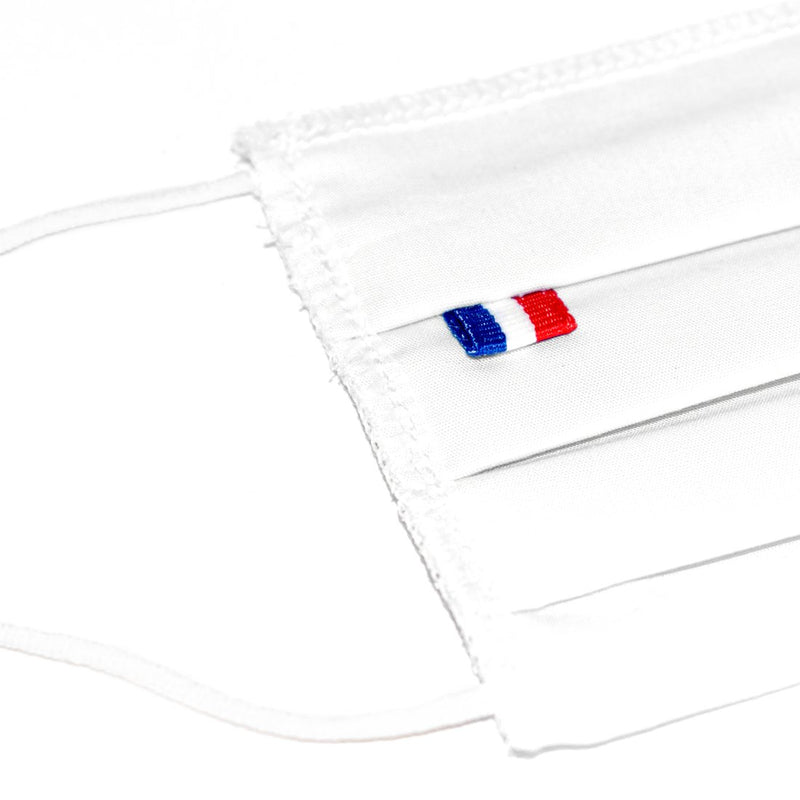 100 Masks French flags to be customized (4464896802874)