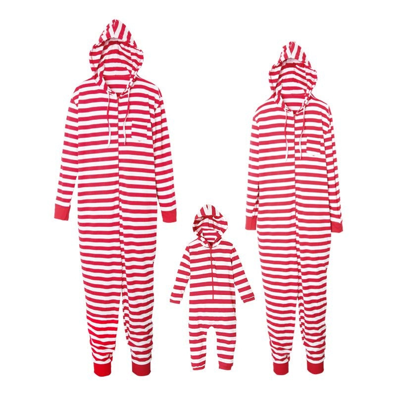 Candy Cane Hooded Nightwear