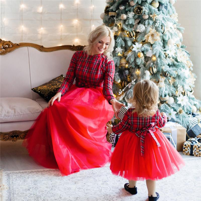 A Christmas Miracle Mother and Daughter Dresses