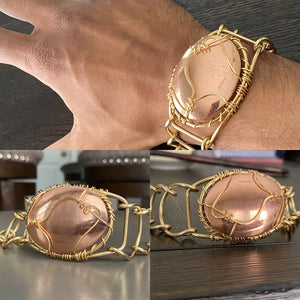 BRONZE+COPPER ARCLINK BRACELET