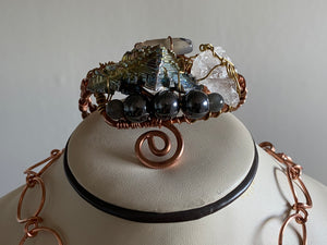 "COPPER ""FORTRESS OF ALLITUDE"" BRACELET"