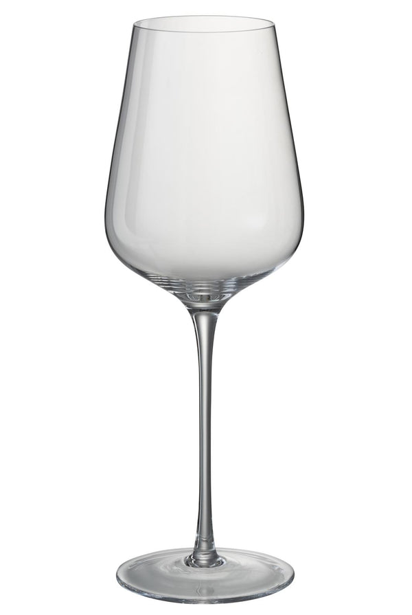 Lot de 6 verres A Vin Rouge Cristal Transparent