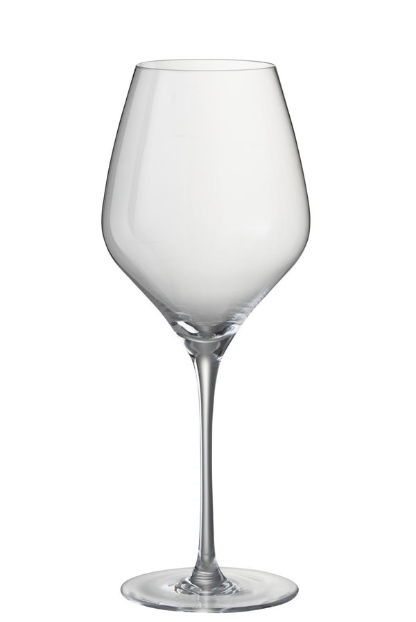 Lot de 6 verres A Vin Rouge Leti Verre Transparent