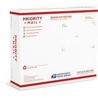 Priority Mail Medium Flat Rate Box - 2 (Side Loaded) (25 Pcs)