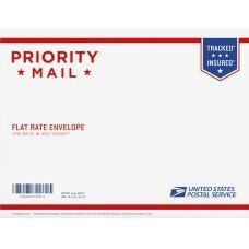 "Priority Mail Letter Flat Rate Envelope 12.5"" x 9.5"" (300 Pcs)"