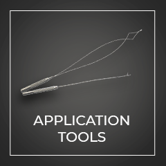 Hair extension application tools