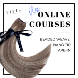 Beaded Weft (Weave) Hair Extension Online Course