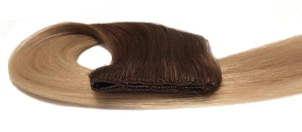 Eaziweave hair extensions for use with micro beads