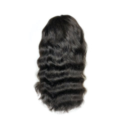Viola hair extensions curly dark brown wig