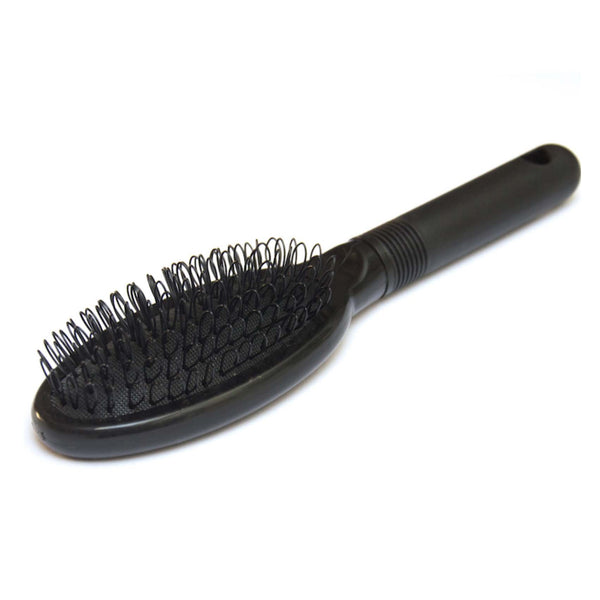 Hair extensions loop brush black