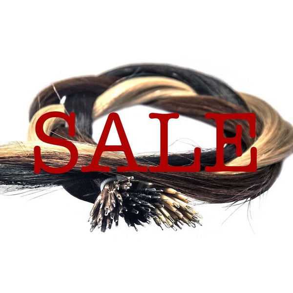Sale nano tip hair extensions