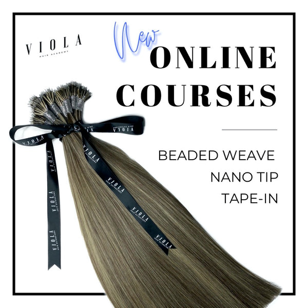 Nano Tip Hair Extension Online Course