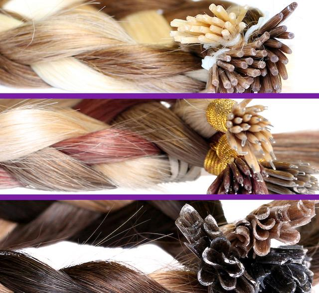 Training hair extensions