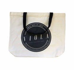 Viola hair extensions tote bag