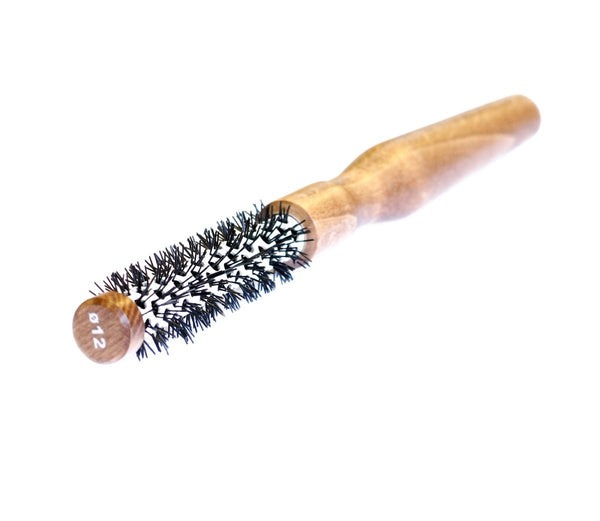 Extra small ceramic round brush 12cm