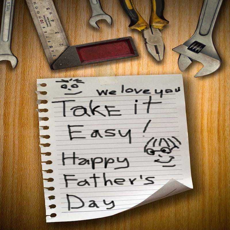 DIY List Father's Day