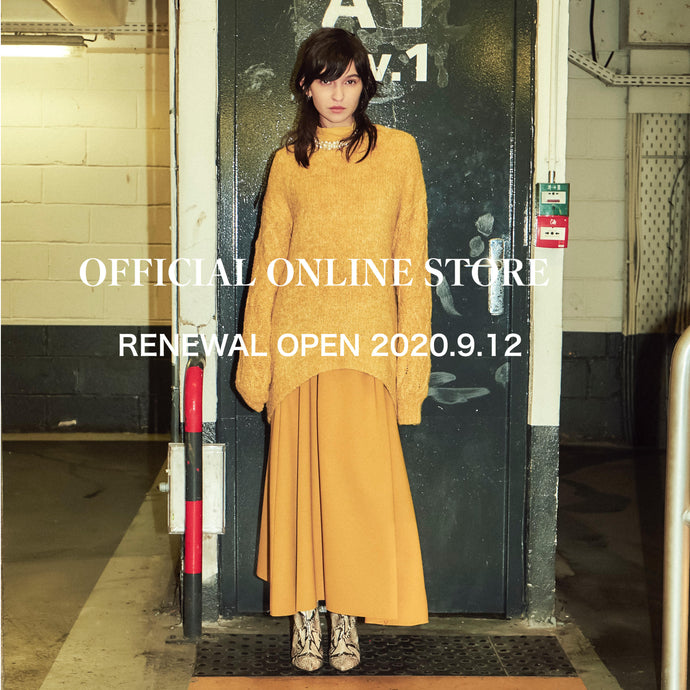 OFFICIAL ONLINE STORE RENEWAL OPEN