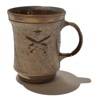 CERAMIC MAG CUP (STAR LACE BRONZE)