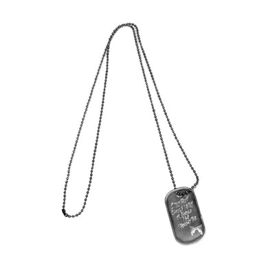CROSSGUN DOG TAG NECKLACE