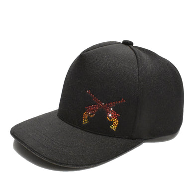 COOL MAX FIRE CROSSGUN SWARO CAP