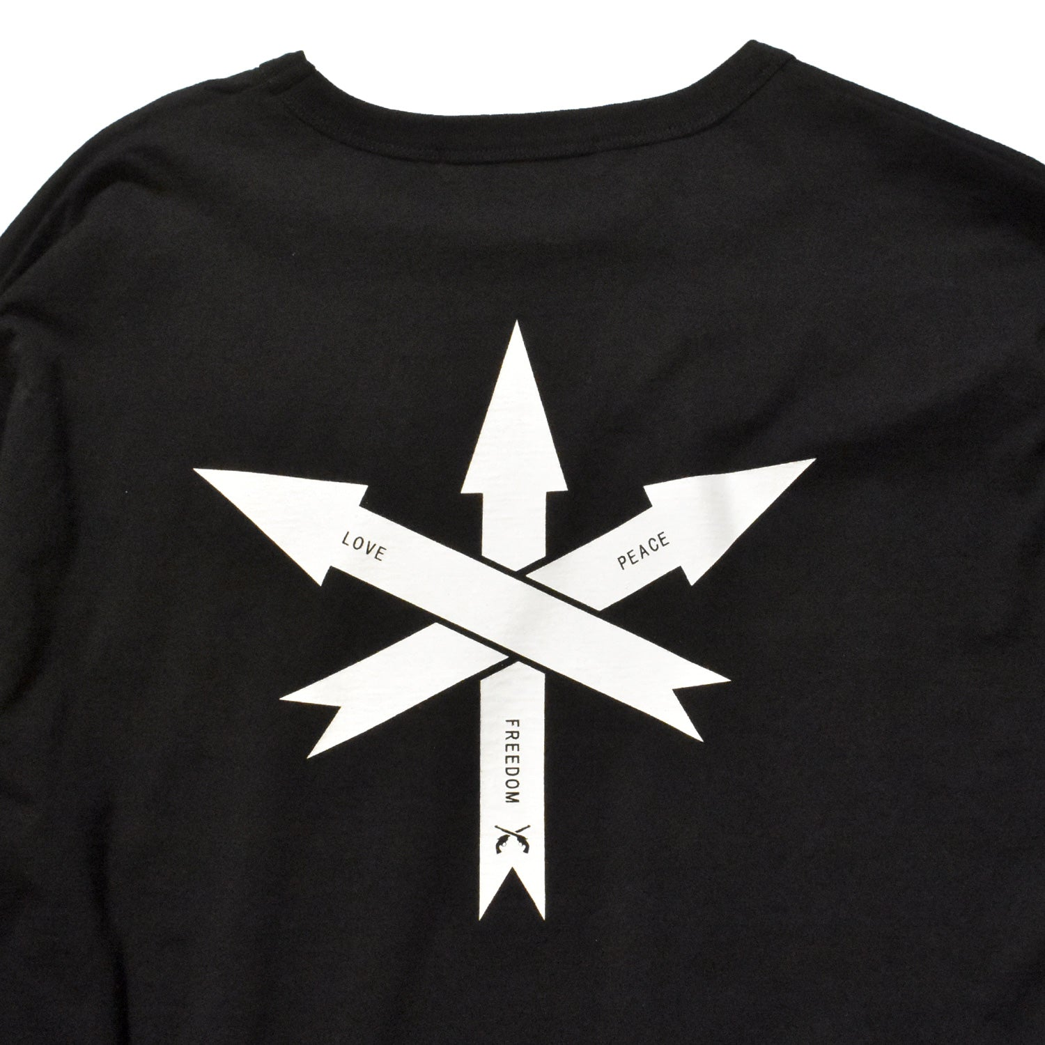 Load image into Gallery viewer, ARROW PRINT T / BLACK