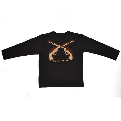 KIDS COOKIE CROSSGUN T / BLACK