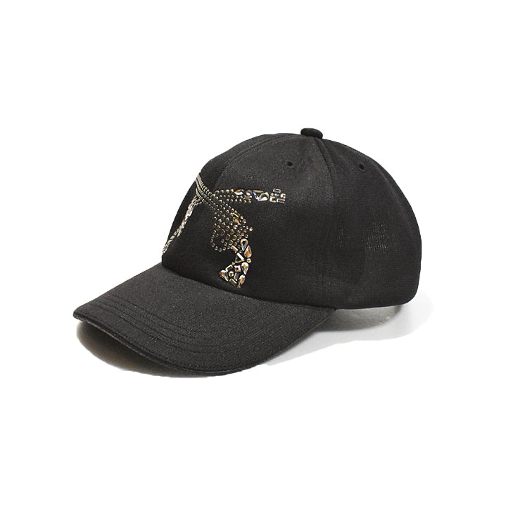 Load image into Gallery viewer, COOL MAX MOSAIC MIX PISTOL 6 PANEL CAP / BLACK×GUNMETAL