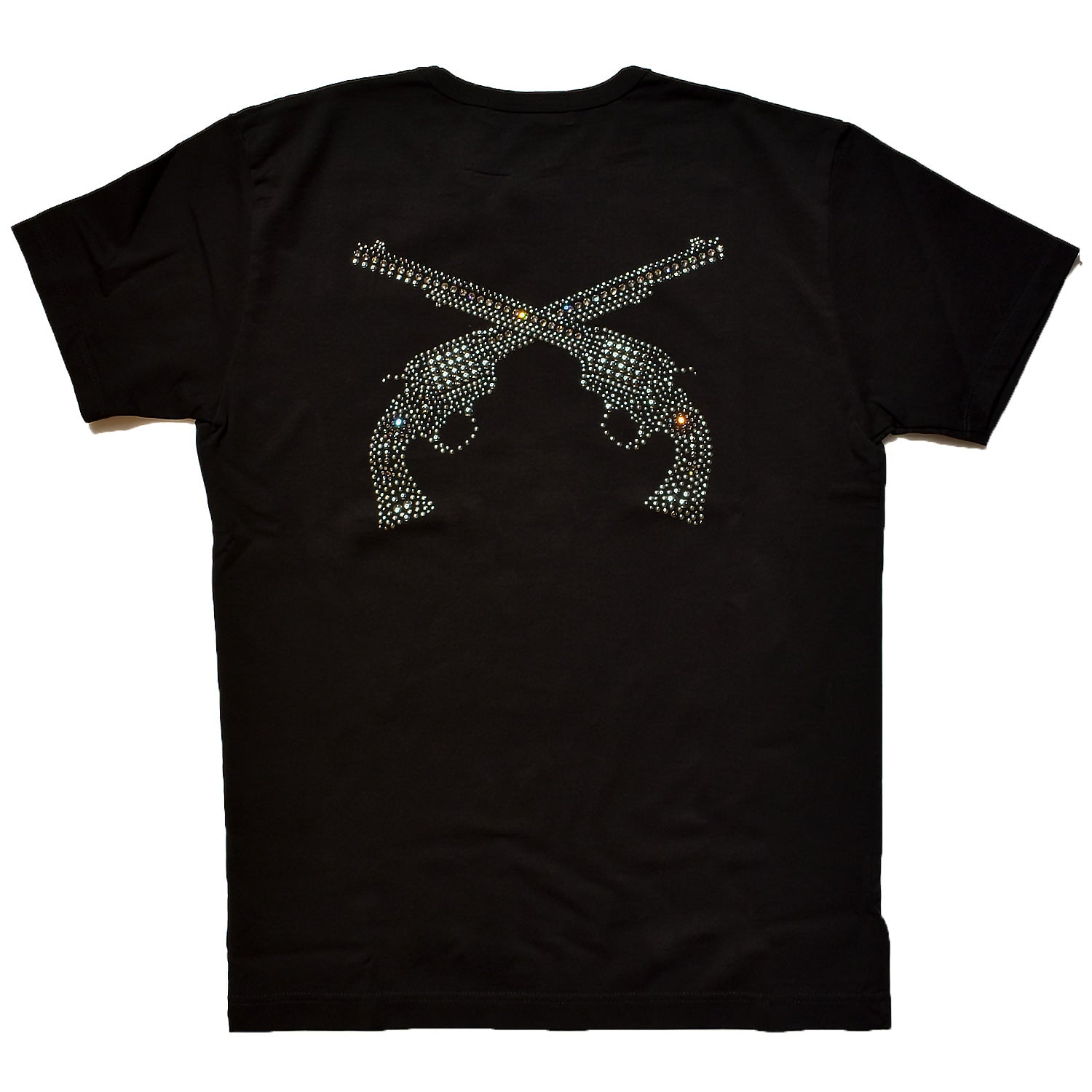Load image into Gallery viewer, FREEDOM JERSEY PISTOL SWARO METAL REGULAR SIZE T BLACK×GUNMETAL