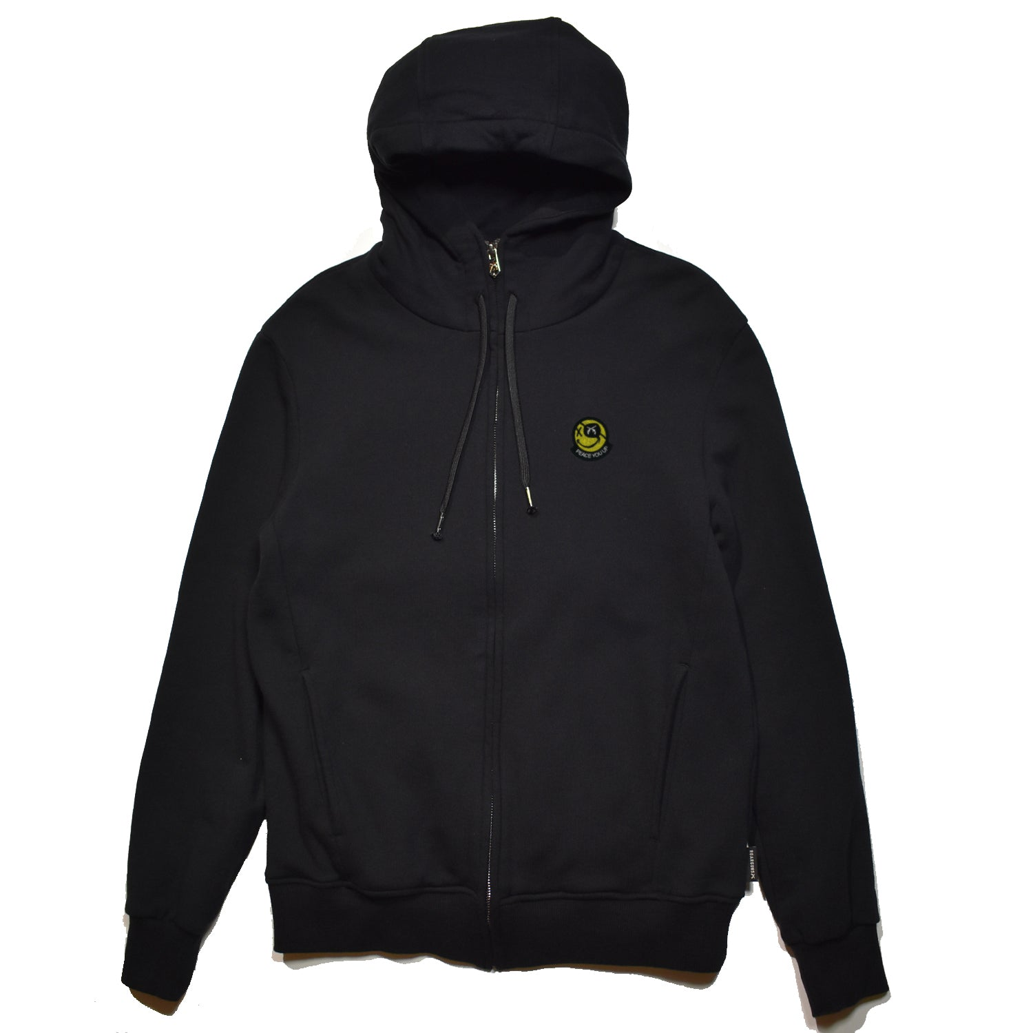 Load image into Gallery viewer, FLEECY HOODIE SMILE EMBROIDERY