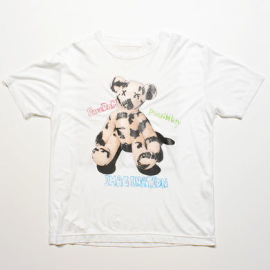 PHOTO BEAR LYOCELL T / WHITE / WOMAN