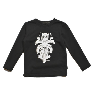 × CHOCOMOO KIDS T BIKE / BLACK